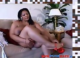 ebony bbw fuck white couple